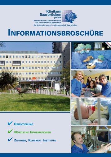 Patienten-Informationsbroschüre - Klinikum Saarbrücken