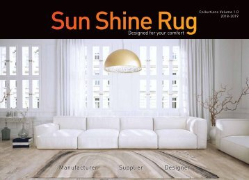 Sun Shine Rug Catalog V1.0