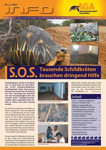 S.O.S. Tausende Schildkröten brauchen dringend Hilfe