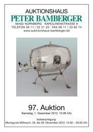 Auktionshaus Peter Bamberger