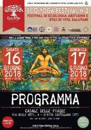 Programma EYF 2nda edizione