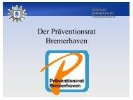 Volker Ortgies - Kooperationsstelle Kriminalprävention Bremen