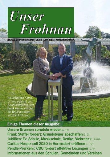 Unser Frohnau 89 (Juni 2018)