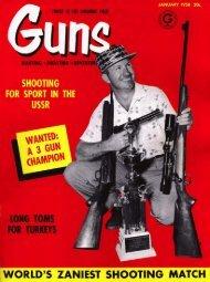 GUNS Magazine January 1958