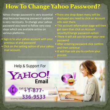 YAHOO HELP SUPPORT NUMBER 1877-503-0107