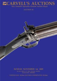 carvell's auctions standard conditions of sale - Carvells Gun Auctions