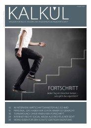 rnehmer - Kalkül - das Magazin für Recht, Steuern und angewandte