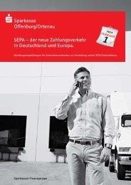 SEPA-Firmenkunden-broschüre - Sparkasse Offenburg/Ortenau