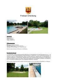 Freibad Ortenberg - Landgasthof Rotlipp
