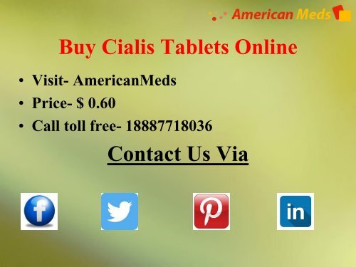 Widely Long-Lasting ED Medication For Impotent Men- Cialis
