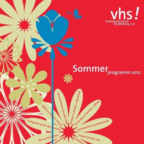 Sommer programm 2012
