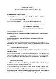 Protokoll Jahreshauptversammlung 2011.pdf - KJS Münster