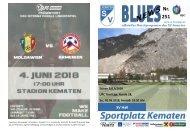Blues News 251: Heimspiel gegen SV Hall