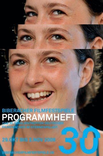 30. Biberacher Filmfestspiel Programmheft
