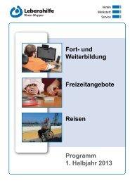 gibt es den Bildungskatalog als pdf-Datei - WLH - Werkstatt ...