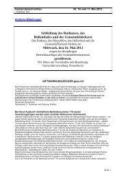 Ausgabe 19 vom 11. Mai 2012.pdf - Gemeinde Dossenheim