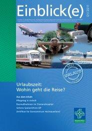 Urlaubszeit: Wohin geht die Reise? - Misericordia GmbH ...