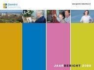 JAARBERICHT 2009 - Gemini Ziekenhuis