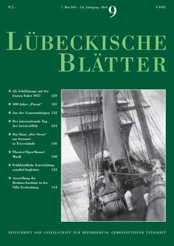 09_LB176.pdf - Lübeckische Blätter