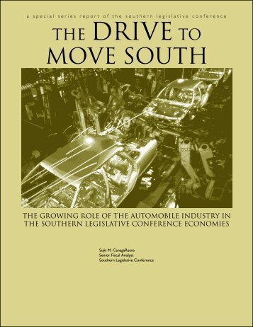 The Drive to Move South - Council of State Governments