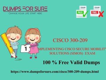 Cisco 300-209 dumps