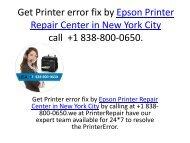 Get Printer error fix by Epson Printer Repair Center in New York City call  +1 838-800-0650 (2 files merged)