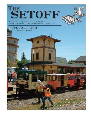 Jul /Aug 2011 - North American Railcar Operators Association