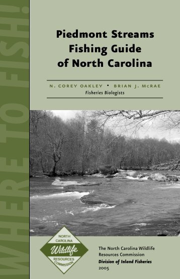 Piedmont Stream Fishing Guide of North Carolina