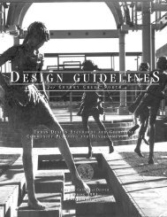 Cherry Creek North Design Guidelines - City and County of Denver