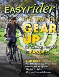 NEW Easy Rider 2012 is here! - Cross County Connection TMA