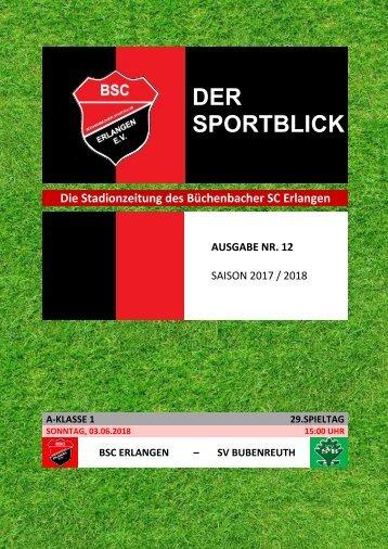 Der Sportblick (Ausgabe Nr. 12 | 17/18)