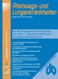 Die Versorgungskette bei Patienten mit COPD - Deutsche ...