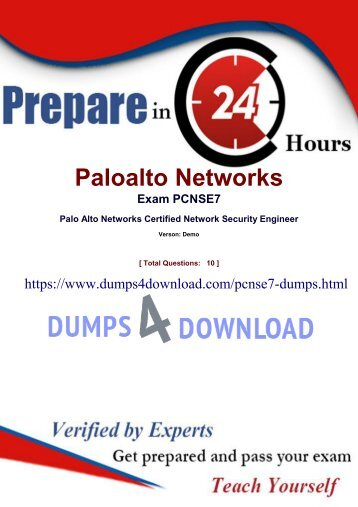 Latest PCNSE7 Real Exam Study Questions - PCNSE7 Dumps