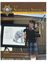 Also inside: - Nebraska Sheriffs' Association