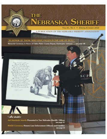 Also inside: - Nebraska Sheriffs' Association