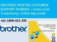 brother printer customer support number | brother printer technical support number  | brother laser printer