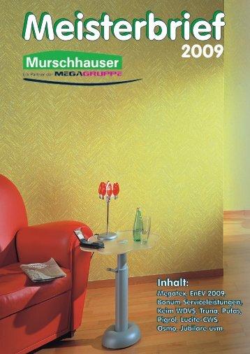 Pigrol Acryl-Buntlacke ABLM/ABLG Pigrol Acryl ... - Murschhauser