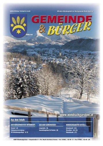Gemeine & Bürger 04/2006 - Windischgarsten