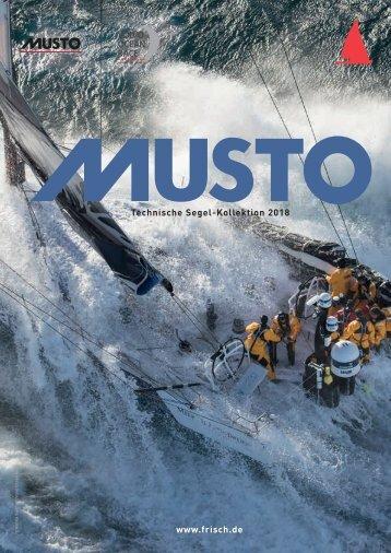 Musto Katalog 2018