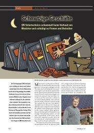 Schmutzige Geschäfte - Photovoltaik Forum