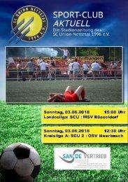 SPORT-CLUB AKTUELL - SAISON 17/18 - AUSGABE 17