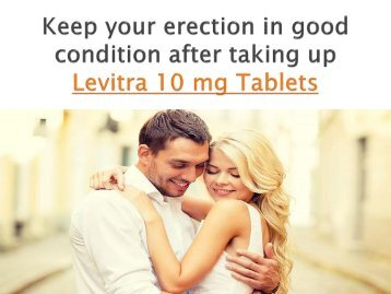 Buy Levitra 10 mg Online Generic Vardenafil Tablets at Cheap Price