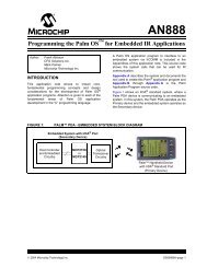 Programming the Palm OS for Embedded IR Applications - Microchip