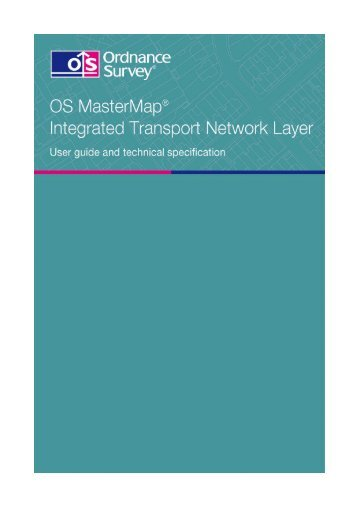 OS MasterMap Integrated Transport Network Layer user ... - Digimap