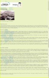 Extratos da obra  História concisa da vila de Loriga - Das origens à extinção do município por António Conde no site da Freguesia de Loriga