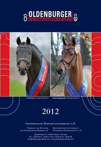 oldenburger hengstverteilungsplan 2012