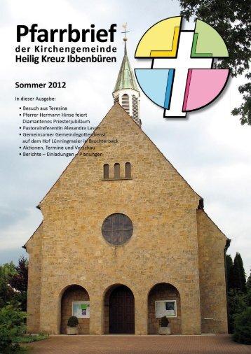 Sommer2012 - Katholische Kirchengemeinde Heilig Kreuz