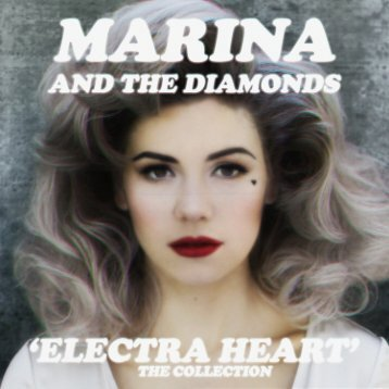 Electra Heart album booklet WIP