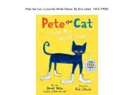 E-Book Pete the Cat: I Love My White Shoes by James Dean