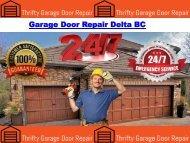 Garage Door Repair Delta BC
